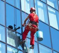 Limpieza trabajo vertical